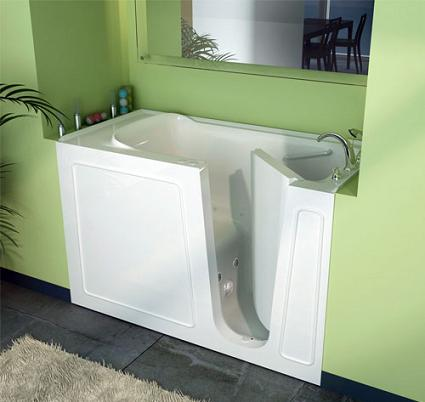Walk in tubs everything you need to know before you buy for Big and tall walk in tubs