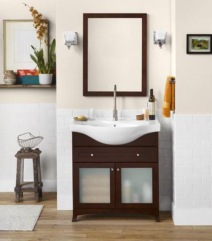 contemporary cottage style bathroom vanities from ronbow