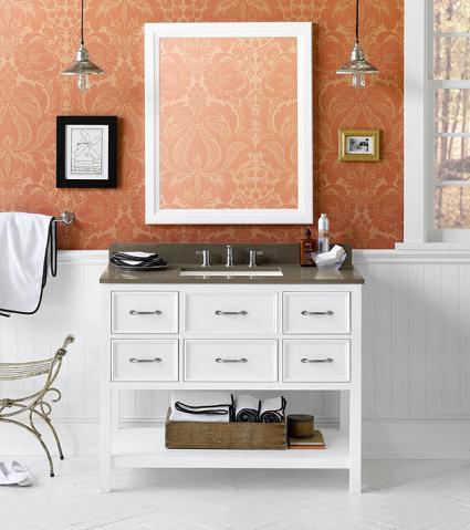 newcastle bathroom vanity from ronbow