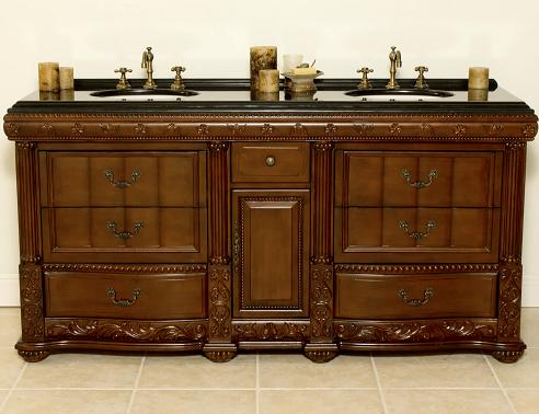 Antique Bathroom Vanities Building A Lavish Bathroom Design