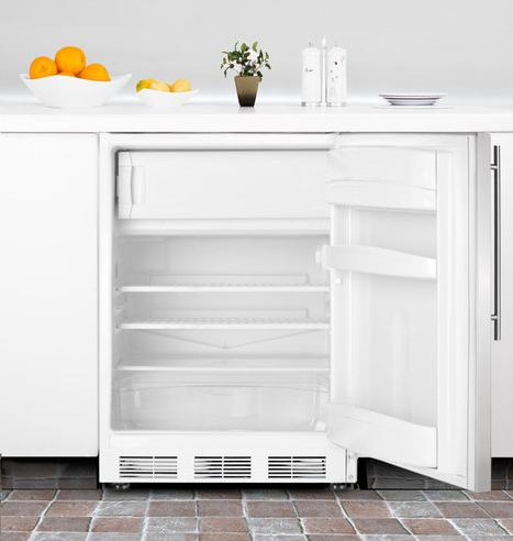 Under counter refrigerators for a small apartment kitchen for Small room fridge
