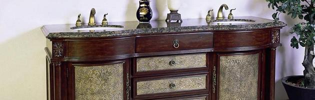 with elegant homes see for ideas le bathroom acquiring vintage plan antique vanity vanities