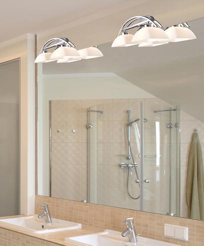 Bathroom lighting balancing form and function for Elk bathroom lighting