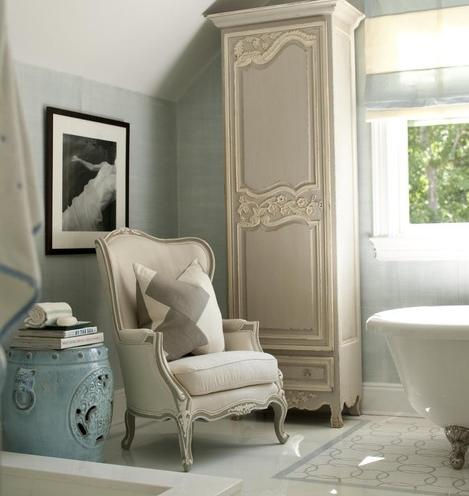 French Country Bathroom Design By Suzanne Kelley Design