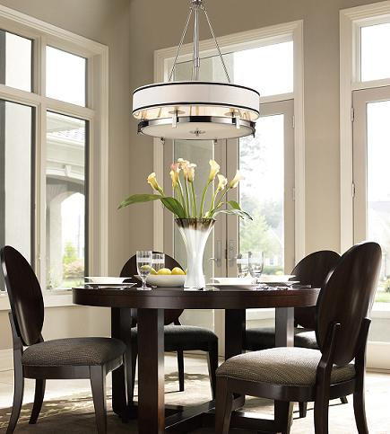 Stylish contemporary pendant lights to light up your for Modern kitchen table lighting
