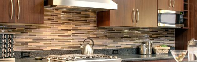 Great New Looks In Kitchen Tile