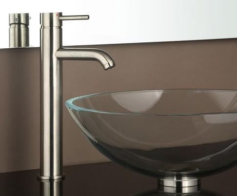 Choosing a vessel sink faucet styles and features to for Are vessel sinks out of style