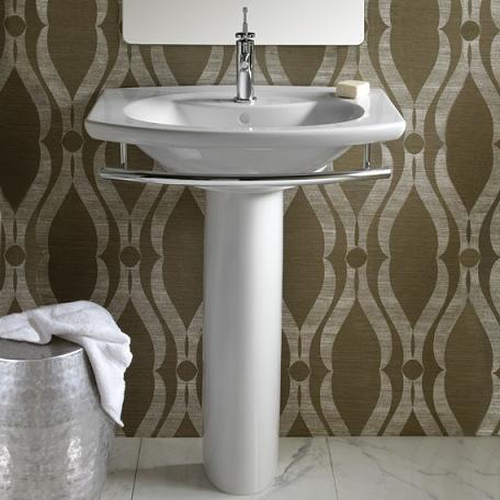 Porcher Pedestal Sink : Pedestal Sinks: A Surprising Solution For Any Bathroom