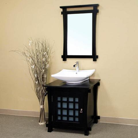 Asian Inspired Bathroom Vanities For A Zen Like Modern Bathroom