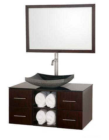 alternative bathroom vanities for a half bath or guest