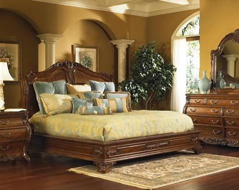 Ornate Antique Beds And Bedroom Sets For An Opulent Old World Style
