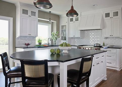 Five Great Ways To Make A White On White Kitchen Decor Work