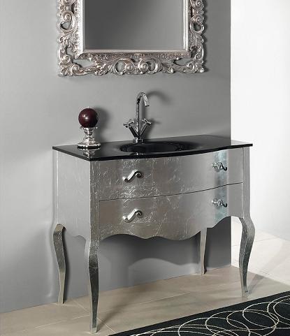 Metallic Bathroom Vanities A Surprising New Trend For A Variety Of Bathroom Styles