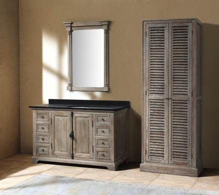 providence 60 grey bathroom vanity with cabinet from james martin