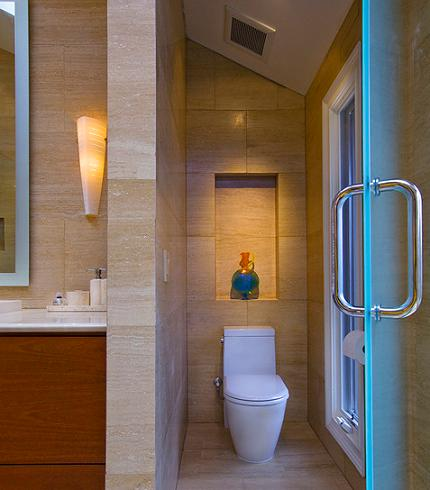 Adding Privacy To Your Master Bathroom Or How To Hide Your Toilet