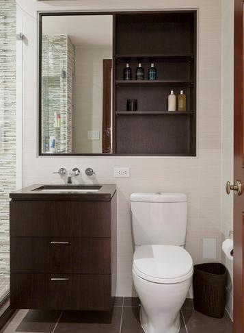 Six Tricky Ways To Save Space In A Small Bathroom