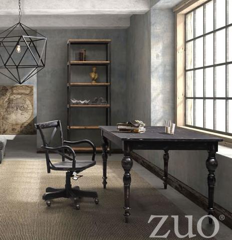 Rustic office design for a homier home office - Rustic home office furniture ...