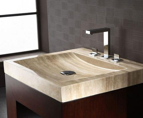 Bathroom Vanity With Bowl On Top : bathoom sinks , integrated stone sinks , ramp sinks , stone sinks ...
