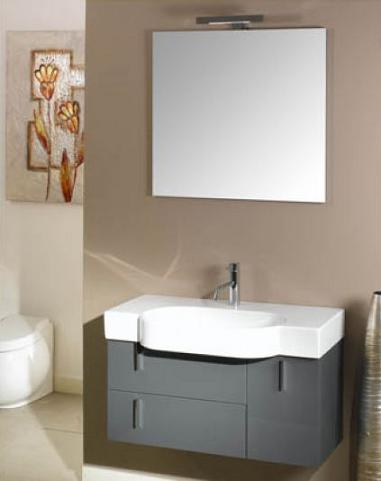 Shallow Depth Pedestal Sink : Narrow Bathroom Vanities - A Simple Solution For A Small Bathroom