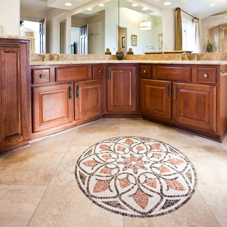 Floor tile medallions for sale