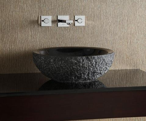 Natural Stone Vessel Sinks A Signature Style For Your Bathroom Sink