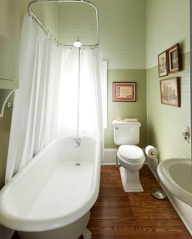 Green bathroom design a natural color for a laid back for 1890 bathroom design