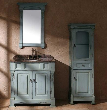 hot trends in bathroom vanities part 2 stylish color choices. Black Bedroom Furniture Sets. Home Design Ideas