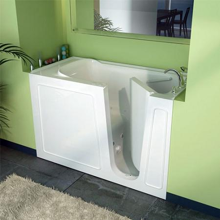 Age in place bathroom design part 2 features of an for Big and tall walk in tubs