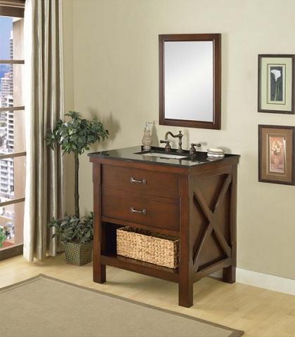 An Introduction To Open Shelf Bathroom Vanities
