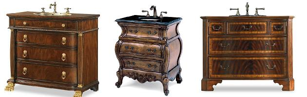 Dresser Style Bathroom Vanities U2013 A Storage Smart Option For A Traditional  Bathroom