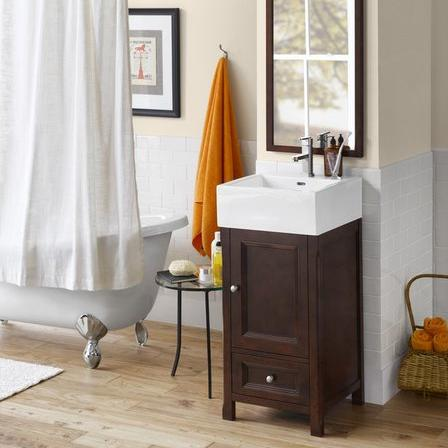 five bathroom vanity brands that cater to small bathrooms