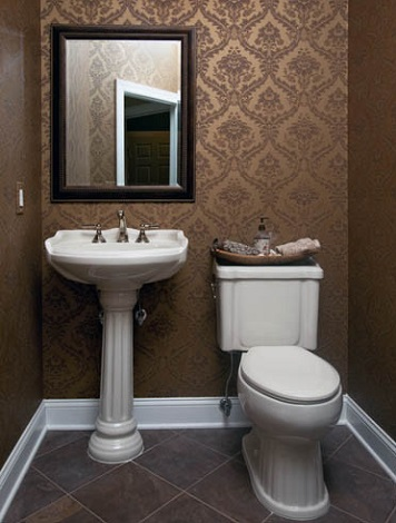 In praise of pedestal sinks new life for a traditional fixture for Very small sinks for small bathroom