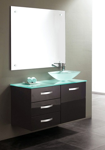Wall mounted bathroom vanities and why they sometimes for Wall mounted bathroom vanity cabinet only
