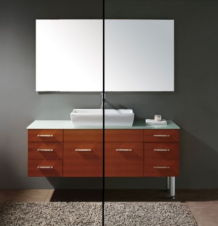 Luxury Bathroom Vanity Lines Are Almost Always Clean And Classic  It Is Common To See Vanity Cabinetry Treated As Freestanding Furniture With Robust Square Legs At