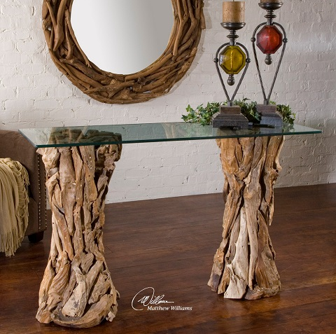 Reclaimed Driftwood Tables For A Gorgeous Natural Accent
