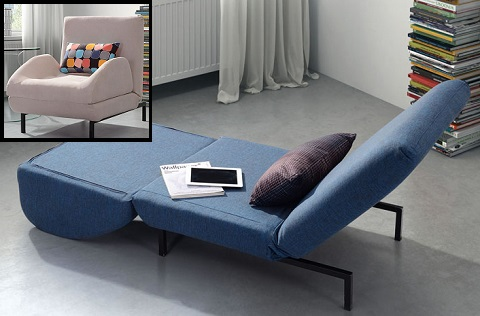 Modern Sleeper Sofas And Chairs For A Small Living Room