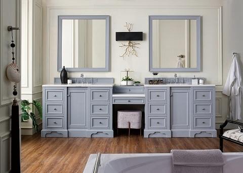 Bathroom Makeup Vanity: Building A Makeup Station From ...