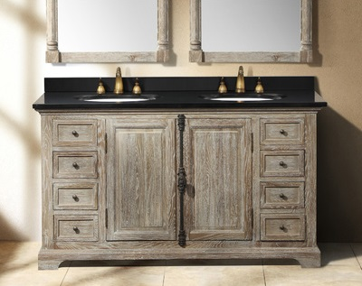 Driftwood Bathroom Vanities A Trendy Choice For A Contemporary Bathroom