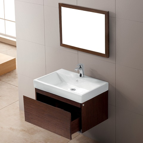 Wall Mounted Bathroom Vanities A Smart Choice For A Small Bathroom
