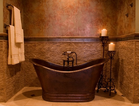 Copper Bathroom Fixtures An Easy Way To Add An Elegant