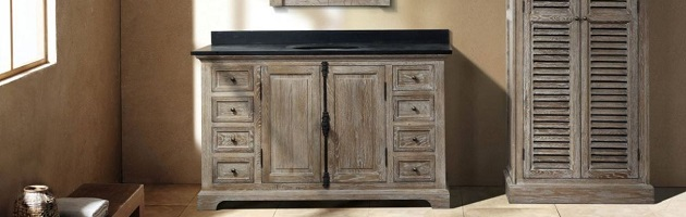 Why it 39 s worth buying a matching bathroom vanity and linen - Bathroom vanity linen cabinet sets ...