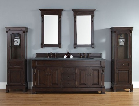 Trendy Transitional Bathroom Vanities James Martin 39 S Brookfield Collection