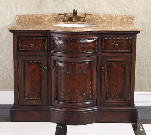 Ornate Traditional Bathroom Vanities Unique Ways To Get An Opulent Look