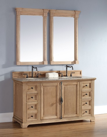 Unfinished solid wood bathroom vanities from james martin - Unfinished furniture bathroom vanity ...