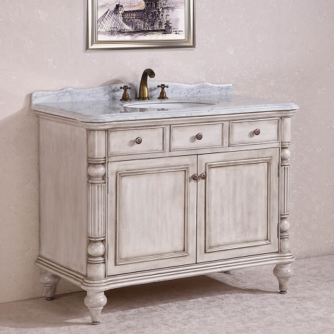 legion furniture 47 solid wood bathroom vanity wh2747 click image