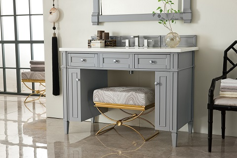 "Brittany 48"" Single Bathroom Vanity ADA in Urban Gray 651-V48-UGR from James Martin Furniture"