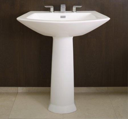 Small Bathroom Solutions Pedestal Sinks