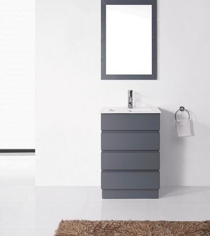 Trendy gray bathroom vanities for any style bathroom for Ultra bathroom vanities burbank