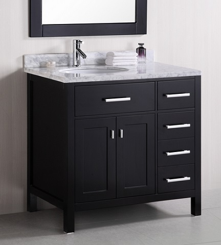 Small Bathroom Solutions Offsetting The Sink