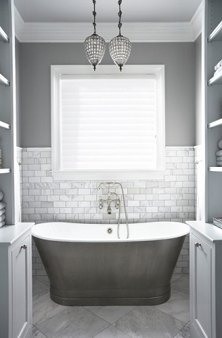putting a fresh twist on the classic subway tile